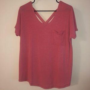 Coral/Pink Shirt